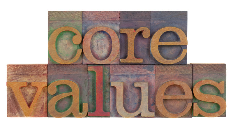 From Performance to Future Potential, it's all about Values